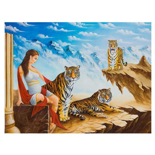 "Eugene Poliarush- Original Oil on Canvas ""A Conscious"""