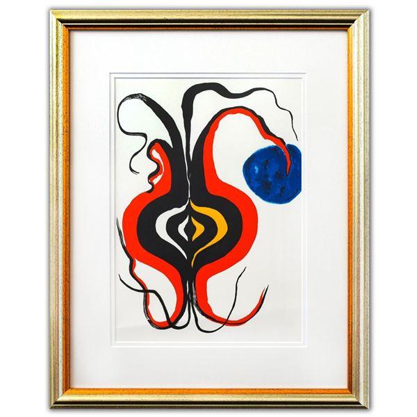 "Alexander Calder- Lithograph ""DLM156 - BULBE"""
