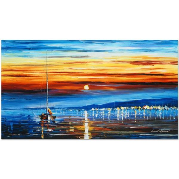 """Leonid Afremov (1955-2019) """"Bright Star"""" Limited Edition Giclee on Canvas, Numbered and Signed. This"""
