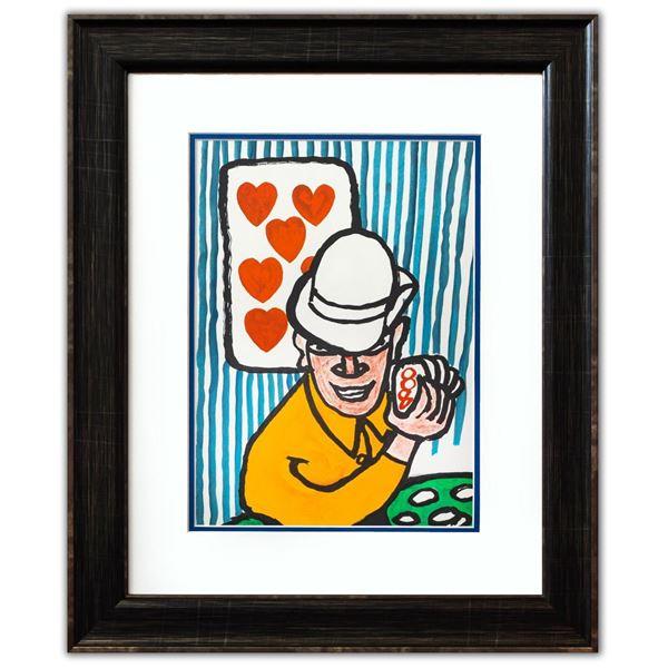 "Alexander Calder- Lithograph ""DLM212 - Joueurs de cartes II"""