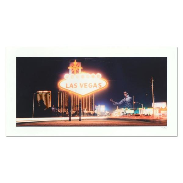 """Robert Sheer, """"Triple Elvis"""" Limited Edition Single Exposure Photograph, Numbered and Hand Signed wi"""