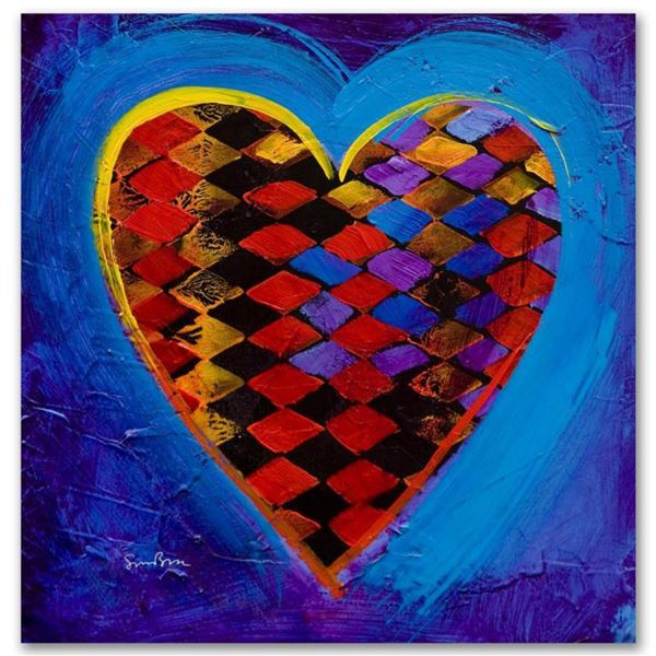 """""""It's A Love Thing II"""" Limited Edition Giclee on Canvas by Simon Bull, Numbered and Signed. This pie"""