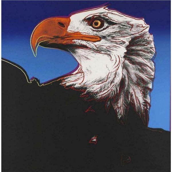 "Andy Warhol- Screenprint in colors ""Eagle"""
