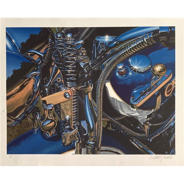 """Scott Jacobs- Serigraph on Paper """"Flawless"""""""
