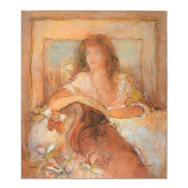 """Batia Magal, """"Eternal Moment"""" Limited Edition Serigraph, Numbered and Hand Signed with Certificate o"""