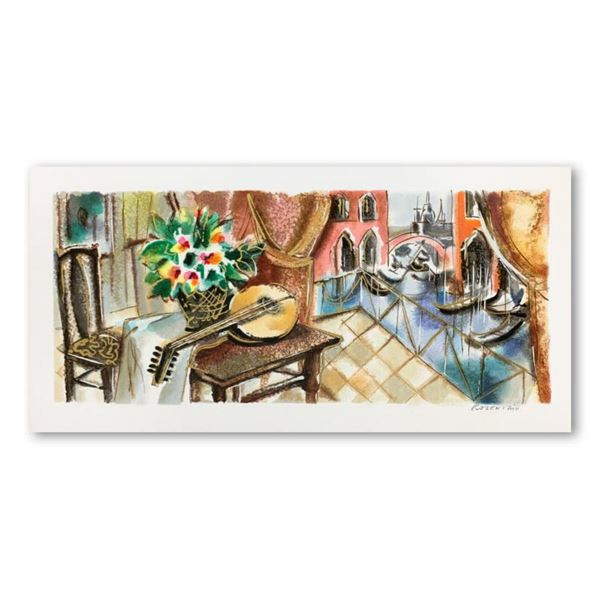 Michael Rozenvain, Hand Signed Limited Edition Serigraph on Paper with Letter of Authenticity.