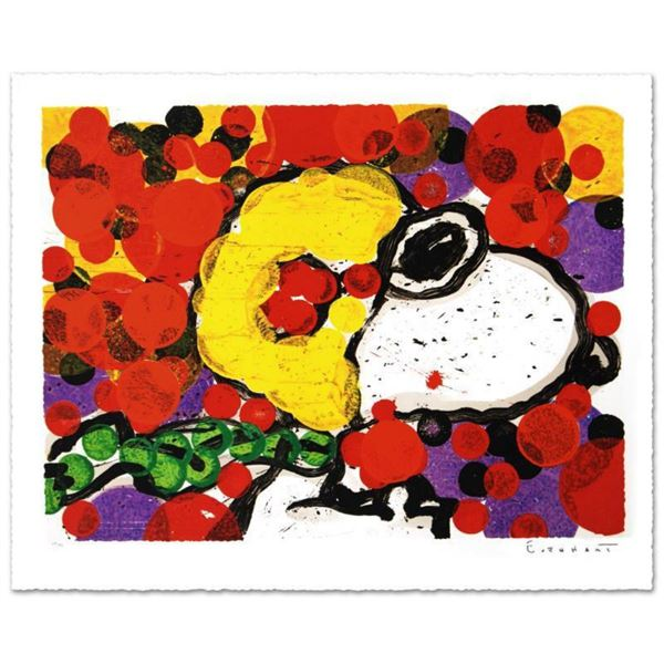 """""""Synchronize My Boogie-Morning"""" Limited Edition Hand Pulled Original Lithograph by Renowned Charles"""