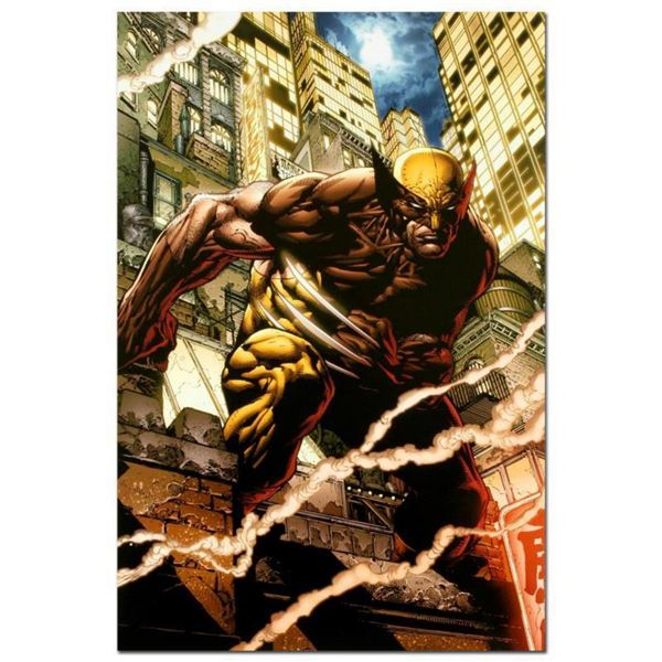 """Marvel Comics """"Wolverine Enemy of the State MGC #20"""" Numbered Limited Edition Giclee on Canvas by Jo"""