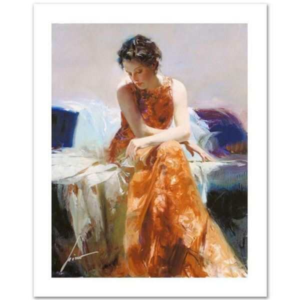"""Pino (1939-2010) """"Solace"""" Limited Edition Giclee. Numbered and Hand Signed; Certificate of Authentic"""