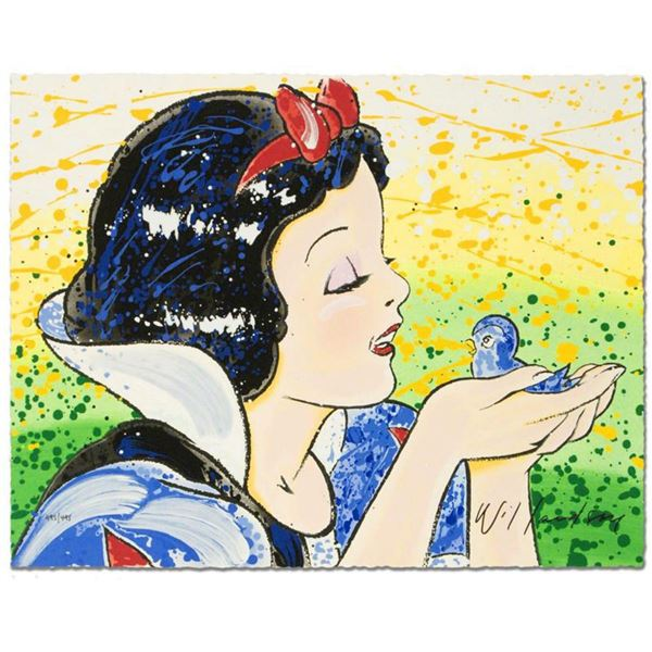 """""""A Fine Feathered Friend"""" Disney Limited Edition Serigraph by David Willardson, Numbered and Hand Si"""