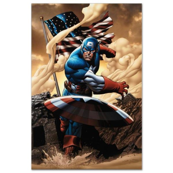 """Marvel Comics """"Marvel Adventures: Super Heroes #3"""" Numbered Limited Edition Giclee on Canvas by Clay"""
