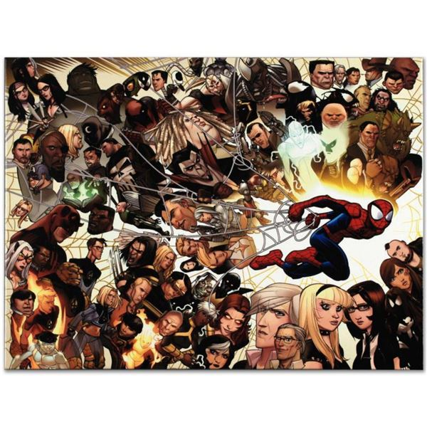 """Marvel Comics """"Ultimate Spider-Man #150"""" Numbered Limited Edition Giclee on Canvas by David Lafuente"""