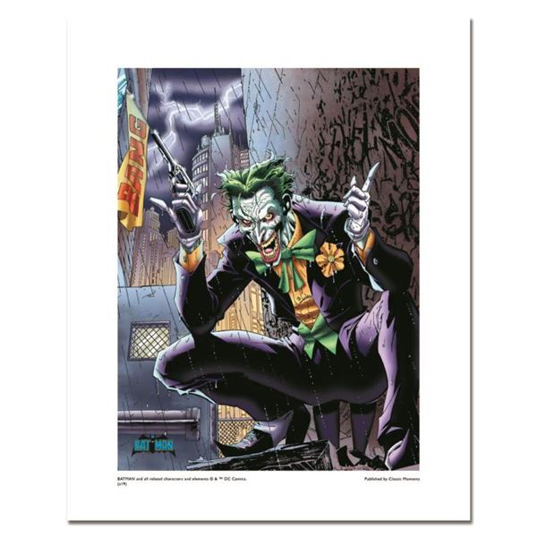 """""""Joker"""" Numbered Limited Edition Giclee from DC Comics & Jim Lee with COA"""