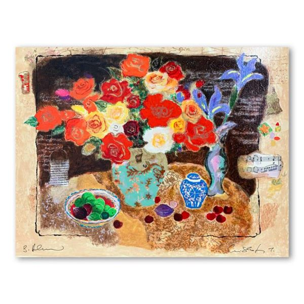 "Alexander Galtchansky (1959-2008) and Tanya Wissotzky (1959-2006), ""Chinese Vase"" Hand Signed Limite"