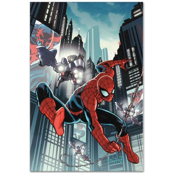 """Marvel Comics """"Timestorm 2009/2099: Spider-Man One-Shot #1"""" Numbered Limited Edition Giclee on Canva"""