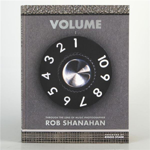 """""""Volume 1, Through the Lens of Music Photographer Rob Shanahan"""" Hand Signed Fine Art Book with Forwa"""