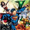 """Image 2 : DC Comics, """"Justice League #2"""" Numbered Limited Edition Giclee on Canvas by Ivan Reis with COA."""