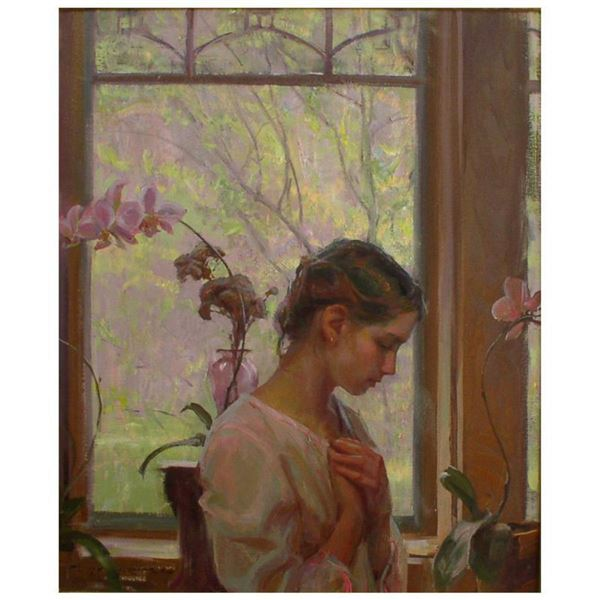 """Dan Gerhartz, """"The Orchid"""" Limited Edition on Canvas, Numbered and Hand Signed with Letter of Authen"""