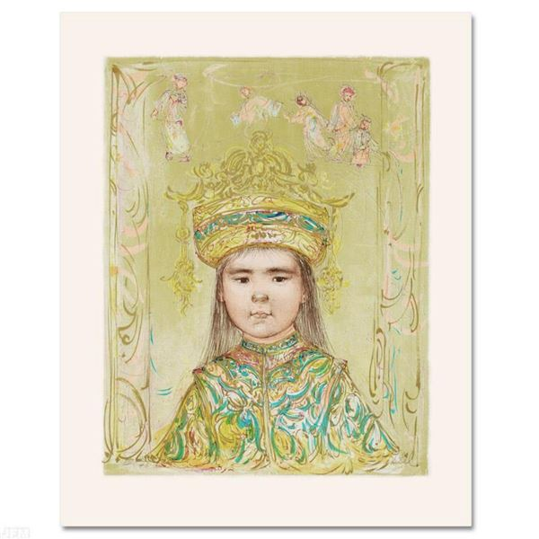 """""""Oriental Daydream"""" Limited Edition Lithograph by Edna Hibel (1917-2014), Numbered and Hand Signed w"""