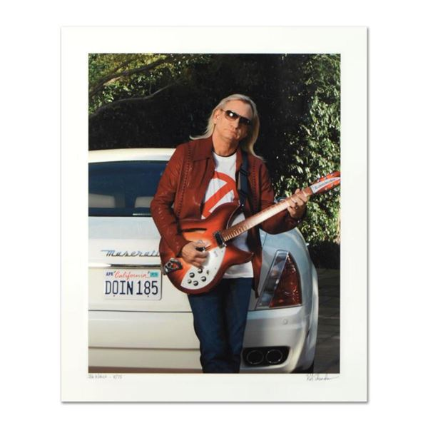 """Rob Shanahan, """"Joe Walsh"""" Hand Signed Limited Edition Giclee with Certificate of Authenticity."""