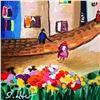 """Image 2 : Shlomo Alter, """"Summer Day II"""" Hand Signed Limited Edition Serigraph on Paper with Letter of Authenti"""