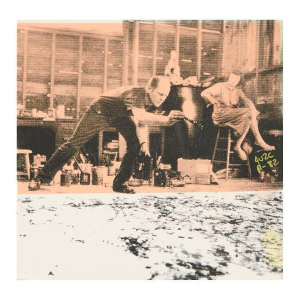 Ringo Daniel Funes (Protege of Andy Warhol's Apprentice, Steve Kaufman),  Jackson Pollock at Work  O