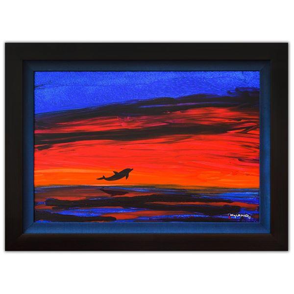 "Wyland- Original Painting on Canvas ""Sea Watch"""