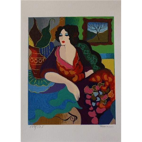 "Patricia Govezensky- Original Serigraph on Paper ""Katy"""