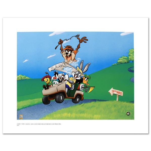 """""""To The 19th Hole"""" Limited Edition Giclee from Warner Bros., Numbered with Hologram Seal and Certifi"""