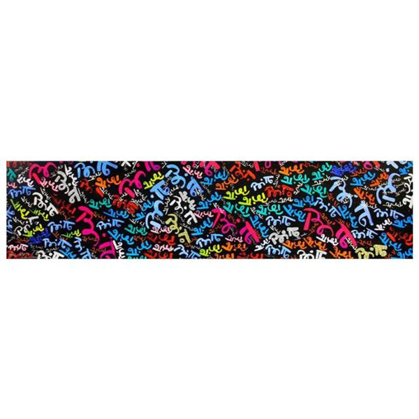 """Romero Britto """"My First Brittos"""" Hand Signed Limited Edition Giclee on Canvas; Authenticated"""