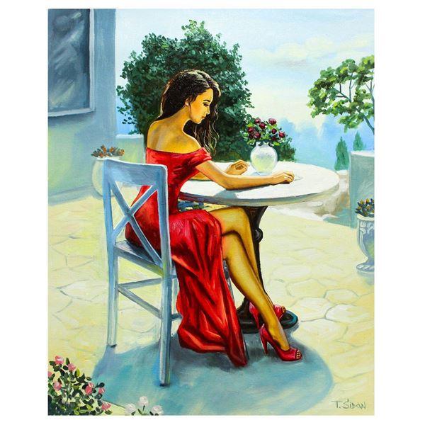 "Taras Sidan- Original Oil on Canvas ""Beautiful Afternoon"""