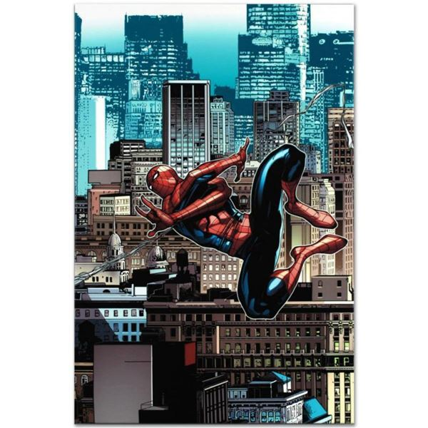 """Marvel Comics """"Amazing Spider-Man #666"""" Numbered Limited Edition Giclee on Canvas by Stefano Caselli"""