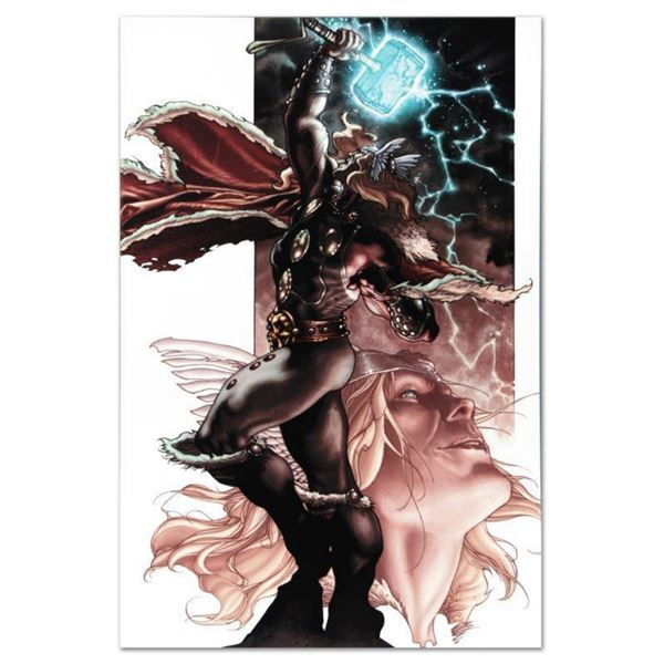 """Marvel Comics """"Thor: For Asgard #3"""" Numbered Limited Edition Giclee on Canvas by Simone Bianchi with"""