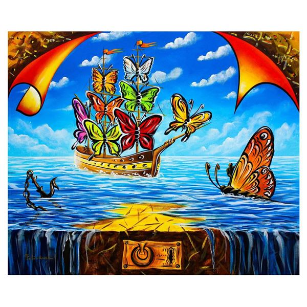 "Eugene Poliarush- Original Oil on Canvas ""Dream Vision"""