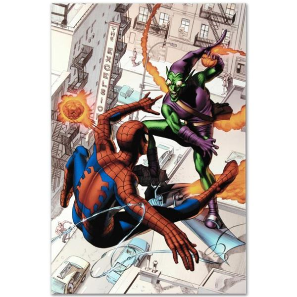 """Marvel Comics """"Dark Reign:The Goblin Legacy One-Shot"""" Numbered Limited Edition Giclee on Canvas by M"""