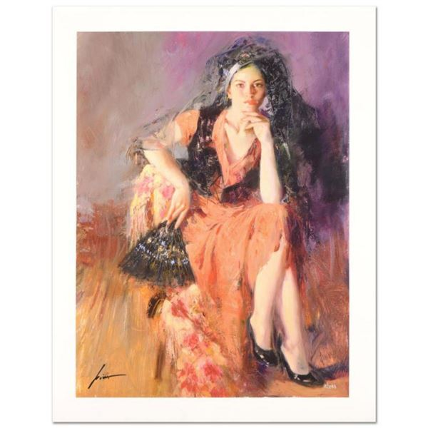 """Pino (1939-2010) """"Dreaming Madrid"""" Limited Edition Giclee. Numbered and Hand Signed; Certificate of"""