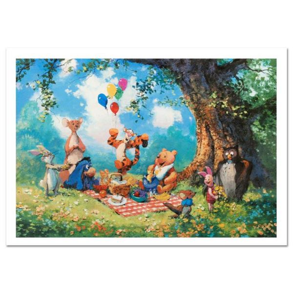 """""""Splendiferous Picnic"""" Limited Edition Lithograph by James Coleman, Numbered and Hand Signed with Ce"""