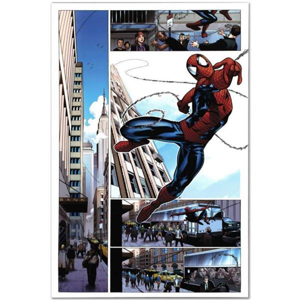 """Marvel Comics """"Astonishing Spider-Man & Wolverine #1"""" Numbered Limited Edition Giclee on Canvas by A"""