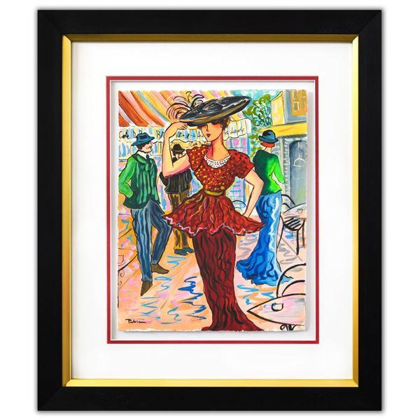 "Patricia Govezensky- Original Watercolor ""Francisca"""