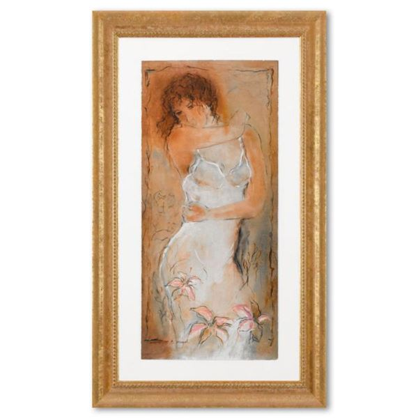 """Batia Magal, """"Naivety"""" Framed Limited Edition Serigraph, EA Numbered 72/95 and Hand Signed with Lett"""