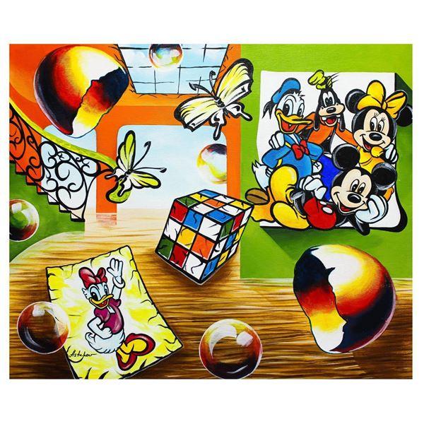 "Alexander Astahov- Original Oil on Canvas ""Good Vibes"""