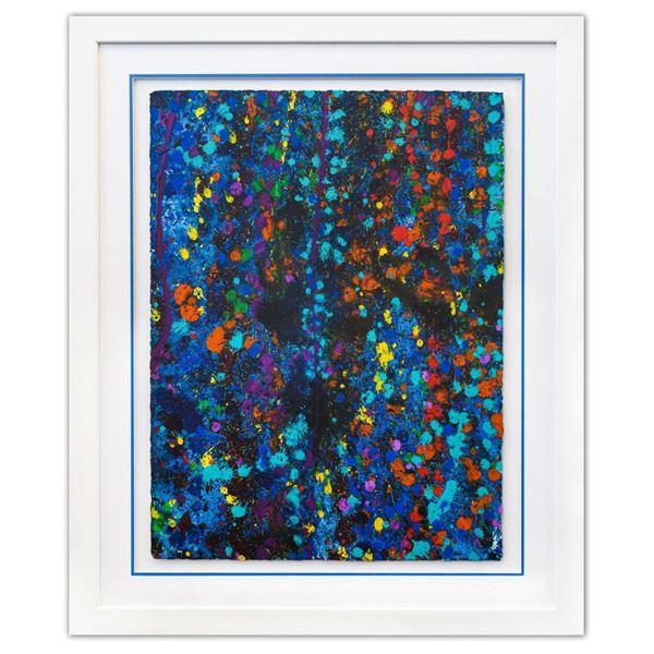 Wyland- Original Watercolor  Pollack Coral Reef