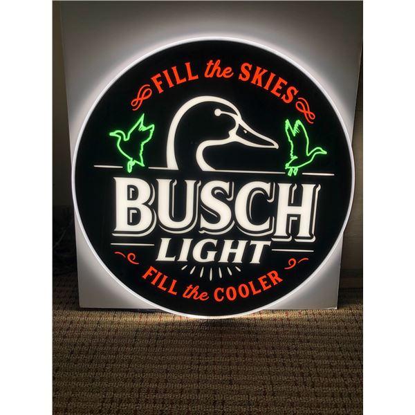 Busch Beer Fill the Cooler Krystal LEDeon
