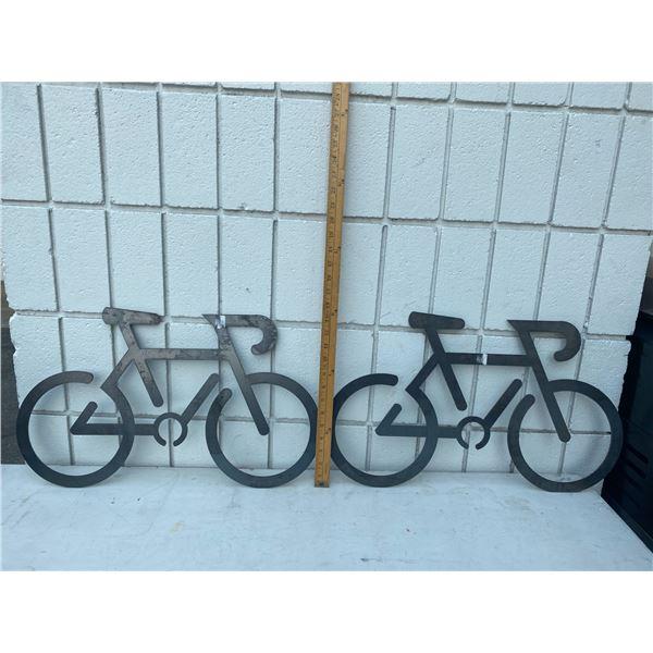 Bike metal art