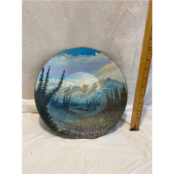 Painted pan