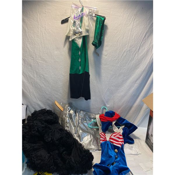 Lot of kids dance outfits