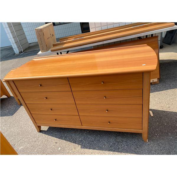 8 drawer dresser vintage retro