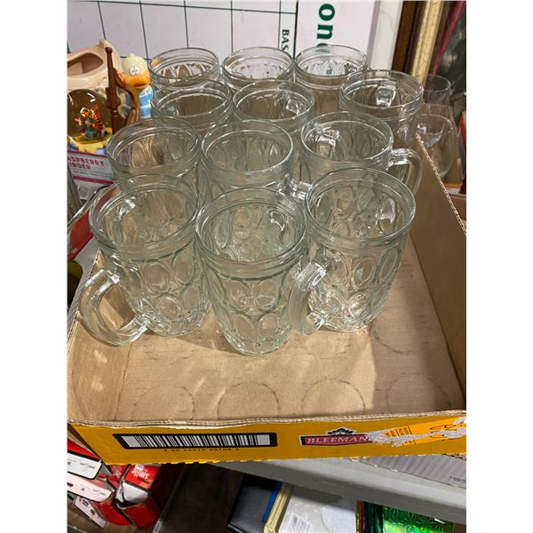 Lot glasses with handles