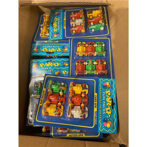 Party fun pack cars