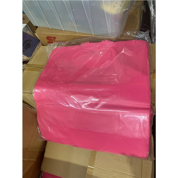 Pink handle bags case